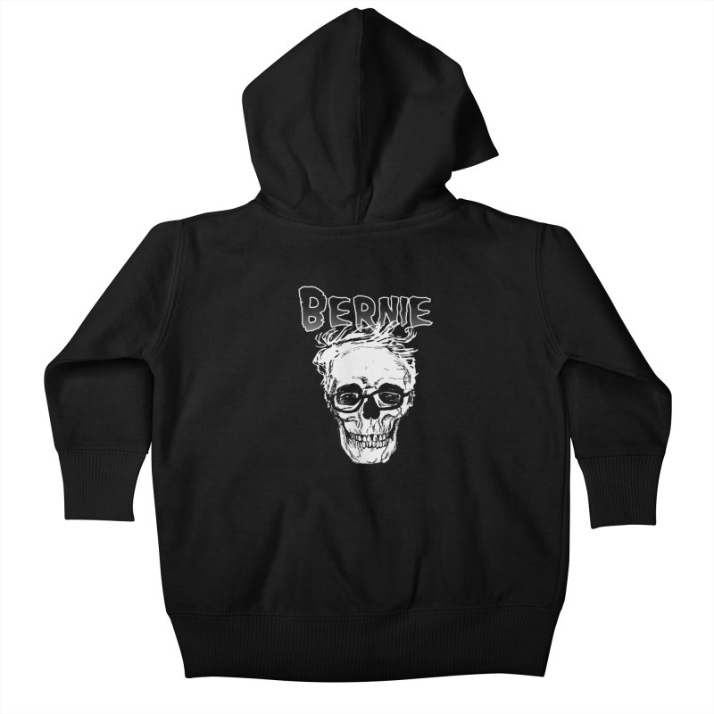 Bernie Sanders Misfits Kids Baby Zip-Up Hoody by deathandtaxes's Artist Shop