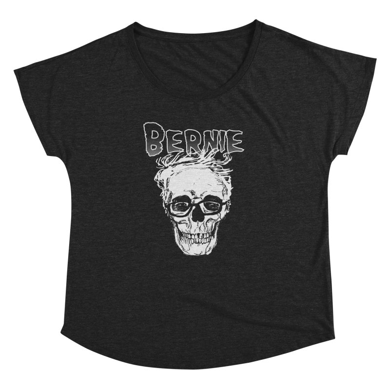 Bernie Sanders Misfits Women's Scoop Neck by deathandtaxes's Artist Shop