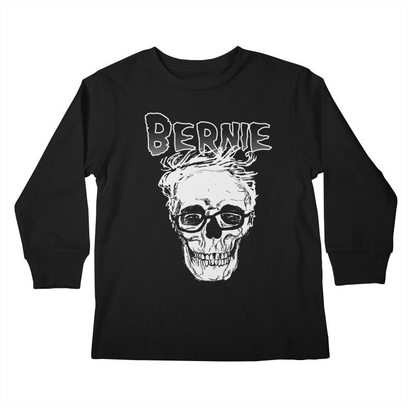 Bernie Sanders Misfits Kids Longsleeve T-Shirt by deathandtaxes's Artist Shop