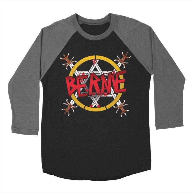 Bernie Sanders Slayer Women's Baseball Triblend T-Shirt by deathandtaxes's Artist Shop