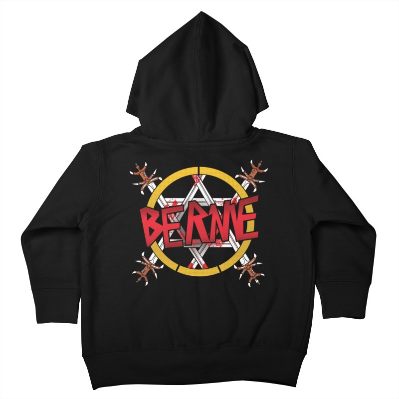 Bernie Sanders Slayer Kids Toddler Zip-Up Hoody by deathandtaxes's Artist Shop