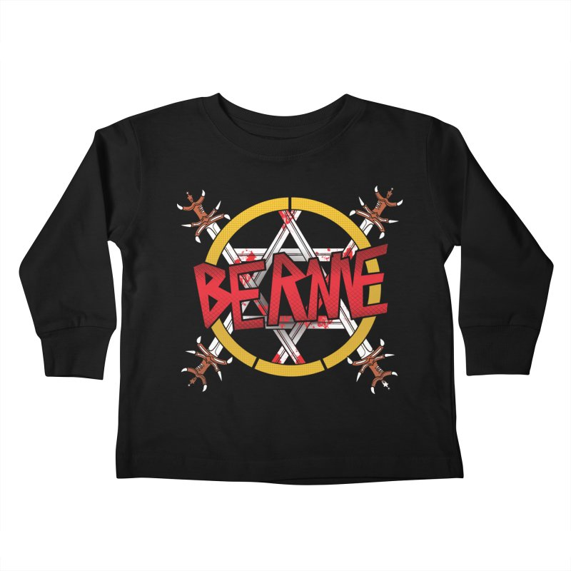Bernie Sanders Slayer Kids Toddler Longsleeve T-Shirt by deathandtaxes's Artist Shop