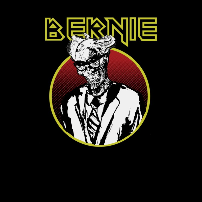 Bernie Sanders Iron Maiden Men's T-Shirt by deathandtaxes's Artist Shop