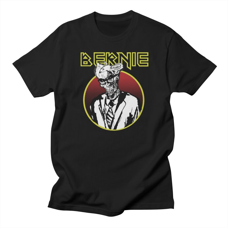 Bernie Sanders Iron Maiden in Men's Regular T-Shirt Black by deathandtaxes's Artist Shop