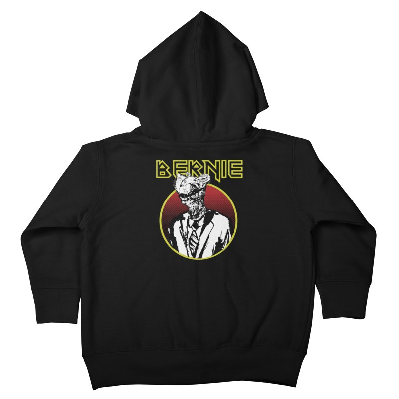 Bernie Sanders Iron Maiden Kids Toddler Zip-Up Hoody by deathandtaxes's Artist Shop