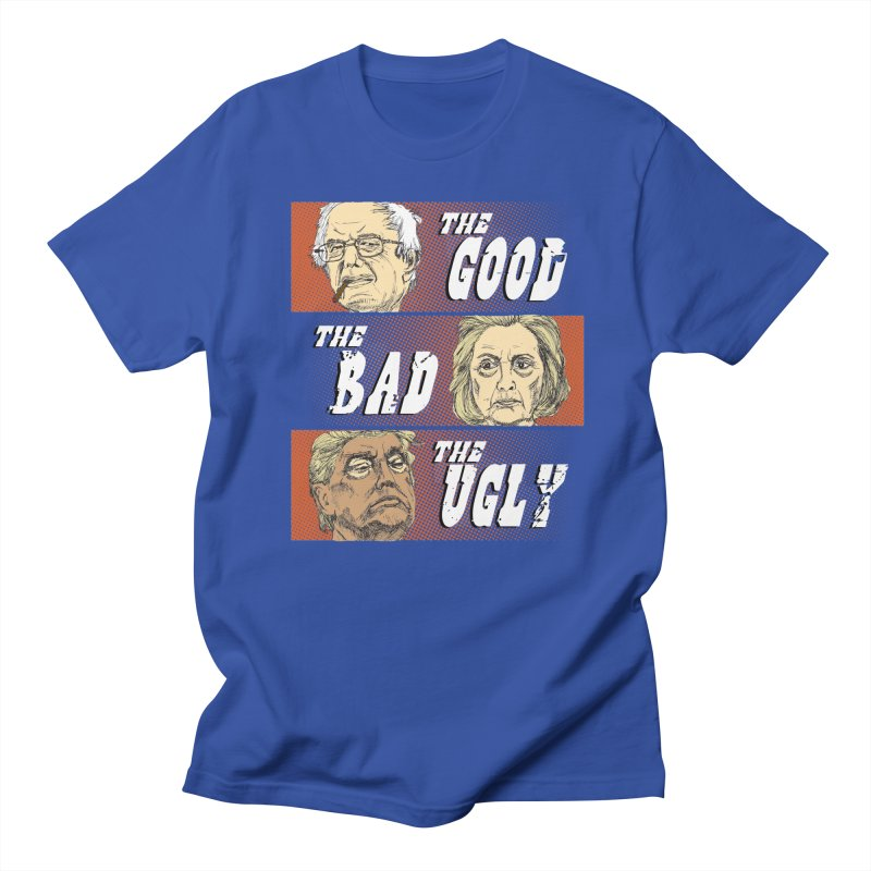 Presidential Race: The Good, The Bad, The Ugly: 2016 Men's T-shirt by deathandtaxes's Artist Shop