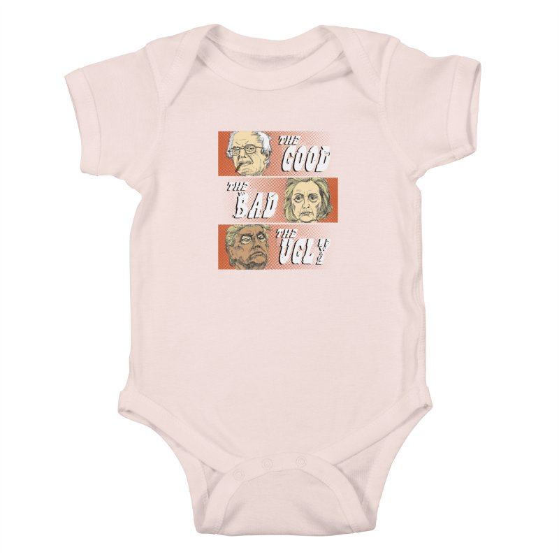 Presidential Race: The Good, The Bad, The Ugly: 2016 Kids Baby Bodysuit by deathandtaxes's Artist Shop