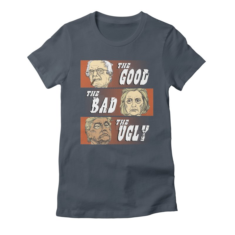 Presidential Race: The Good, The Bad, The Ugly: 2016 Women's Lounge Pants by deathandtaxes's Artist Shop