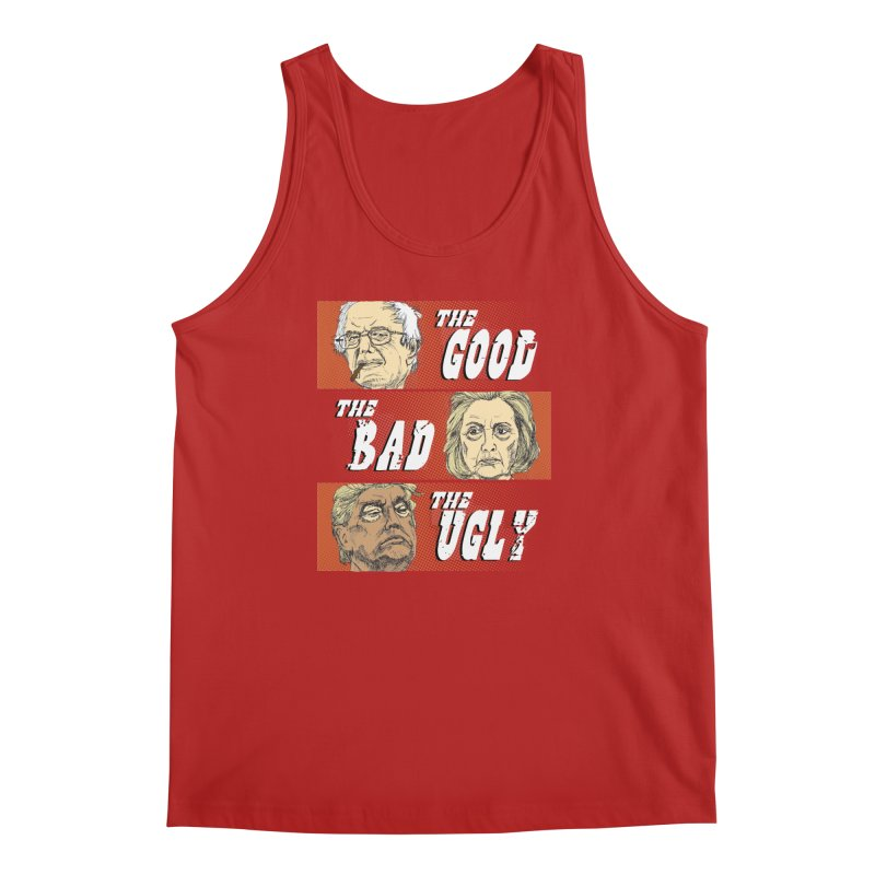 Presidential Race: The Good, The Bad, The Ugly: 2016 Men's Tank by deathandtaxes's Artist Shop