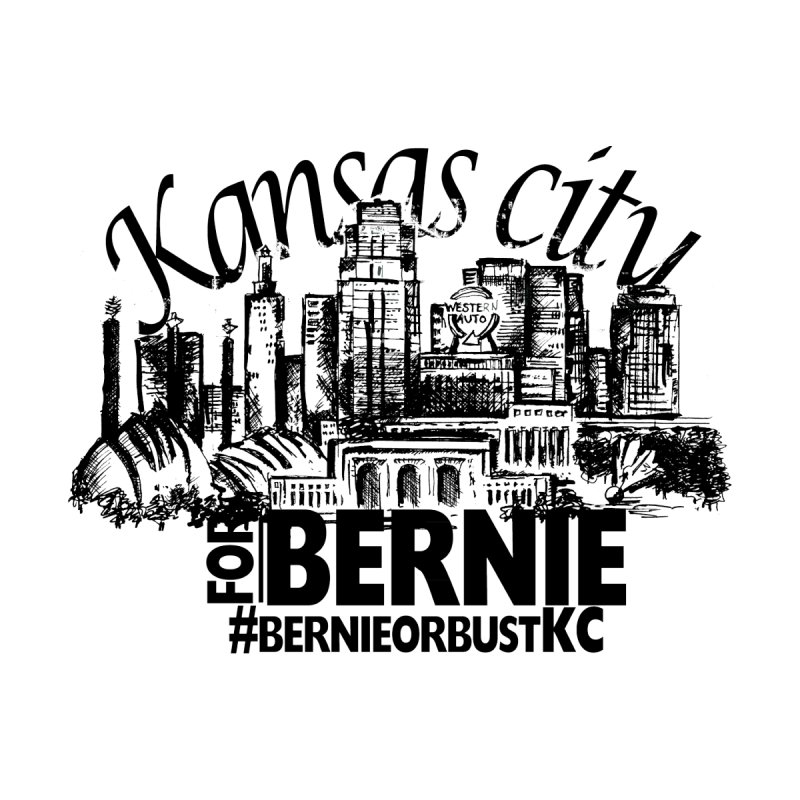 KC For Bernie! Women's Tank by deathandtaxes's Artist Shop