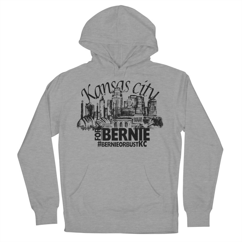 KC For Bernie! Men's French Terry Pullover Hoody by deathandtaxes's Artist Shop