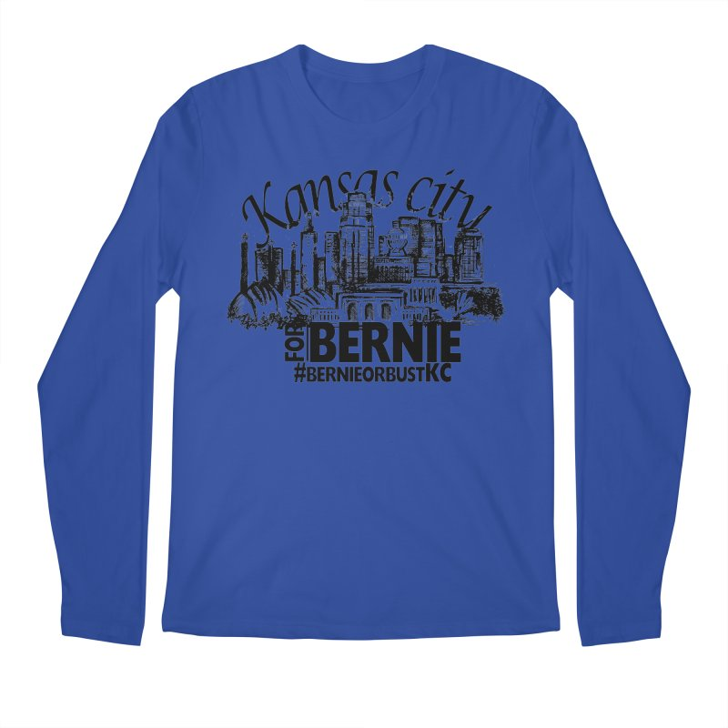KC For Bernie! Men's Regular Longsleeve T-Shirt by deathandtaxes's Artist Shop