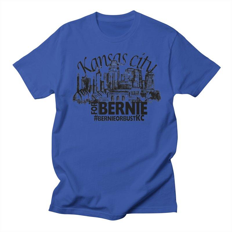 KC For Bernie! Men's  by deathandtaxes's Artist Shop