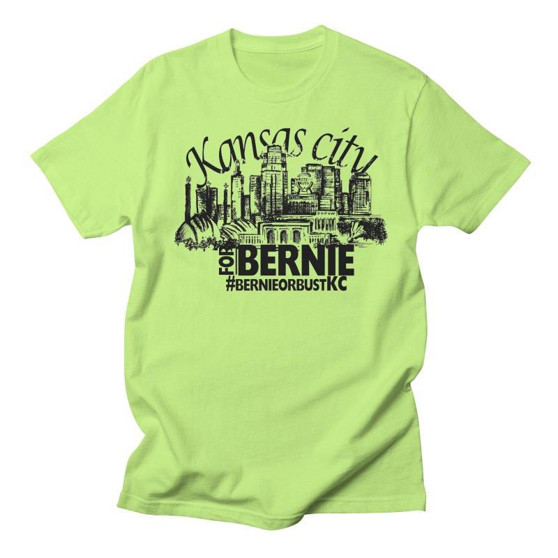 KC For Bernie! Men's T-Shirt by deathandtaxes's Artist Shop