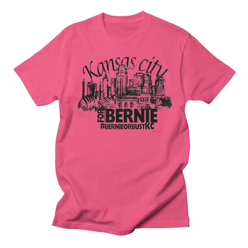 KC For Bernie! Men's T-shirt by deathandtaxes's Artist Shop