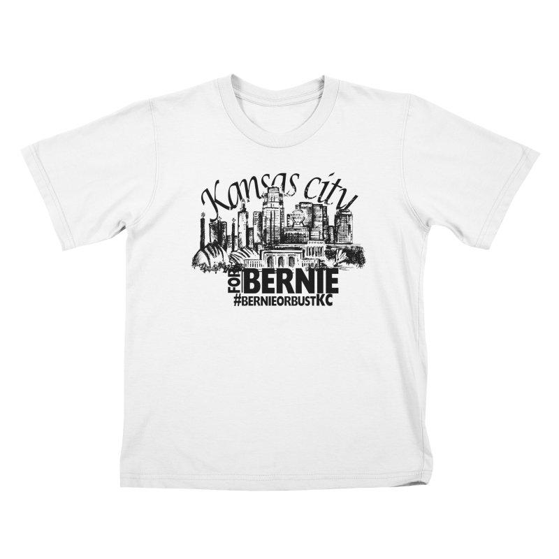 KC For Bernie! Kids T-Shirt by deathandtaxes's Artist Shop