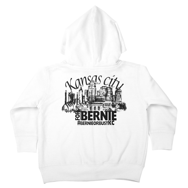 KC For Bernie! Kids Toddler Zip-Up Hoody by deathandtaxes's Artist Shop