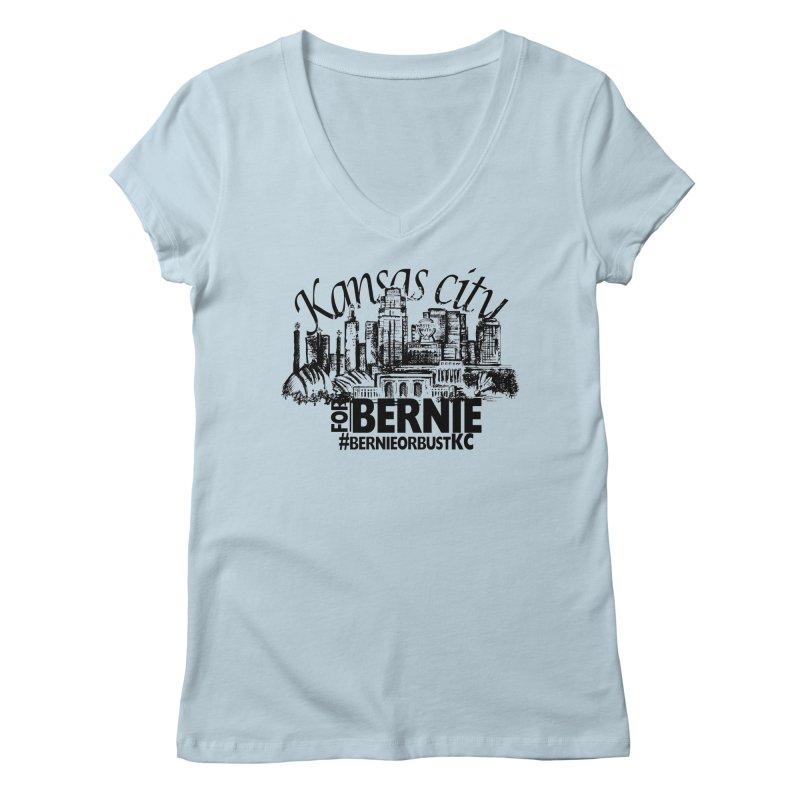KC For Bernie! Women's  by deathandtaxes's Artist Shop