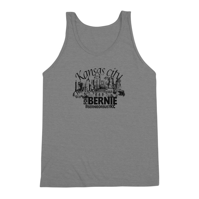 KC For Bernie! Men's Triblend Tank by deathandtaxes's Artist Shop