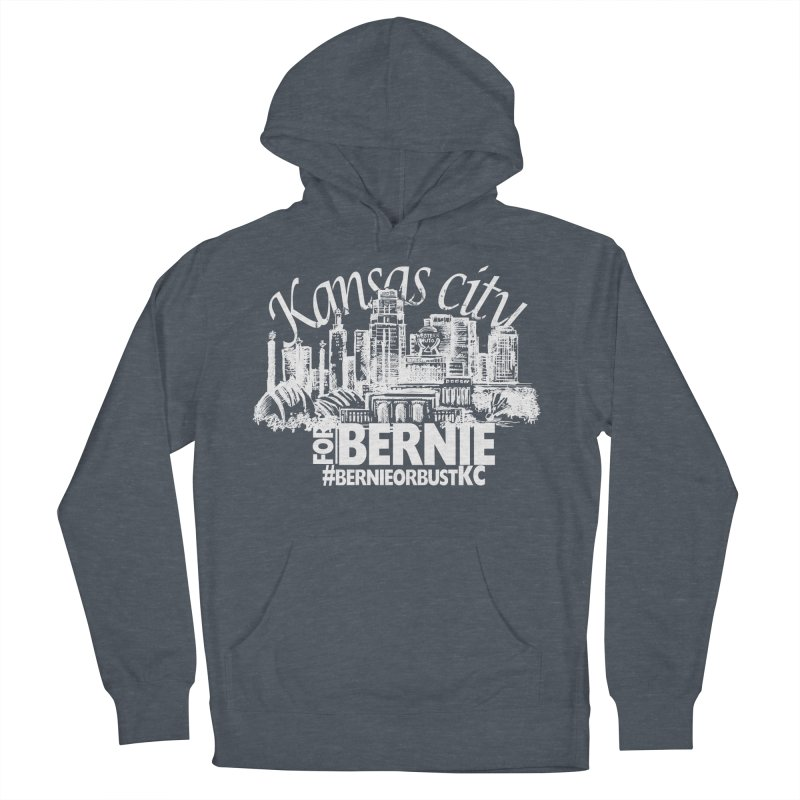 KC for Bernie! Women's French Terry Pullover Hoody by deathandtaxes's Artist Shop