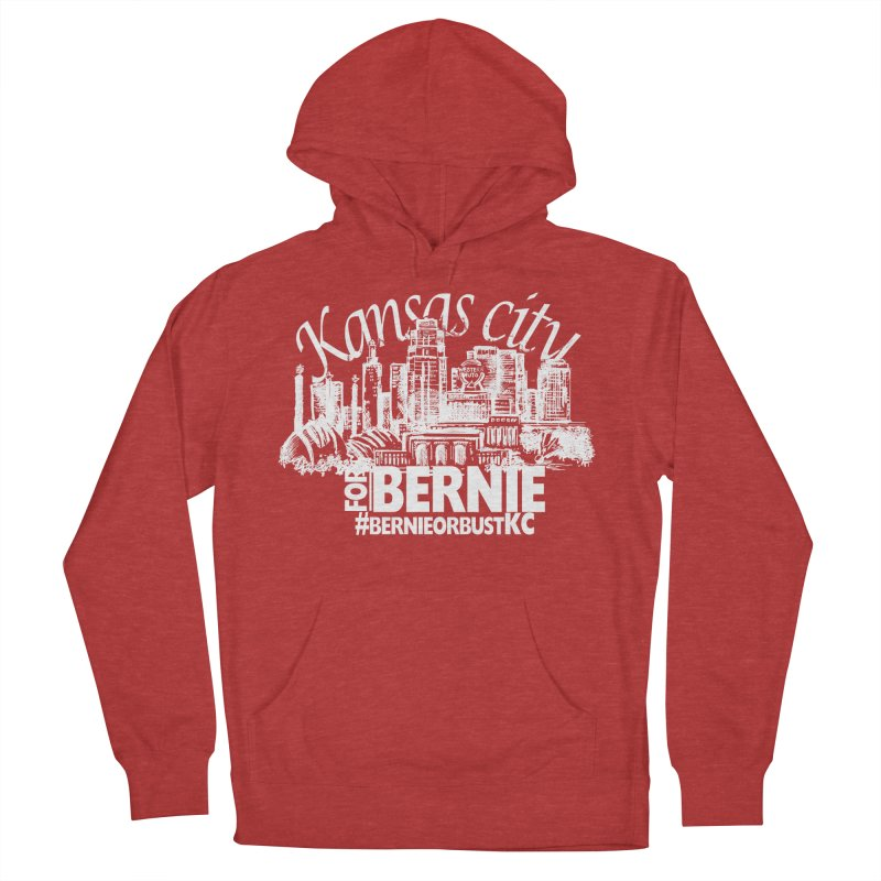 KC for Bernie! Men's Pullover Hoody by deathandtaxes's Artist Shop