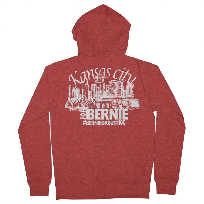 KC for Bernie! Women's Zip-Up Hoody by deathandtaxes's Artist Shop