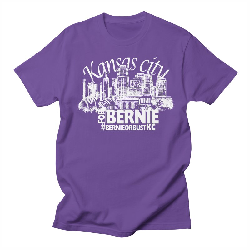 KC for Bernie! Men's Regular T-Shirt by deathandtaxes's Artist Shop