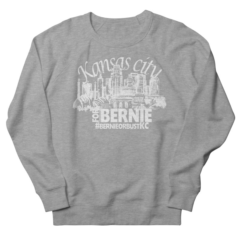 KC for Bernie! Women's French Terry Sweatshirt by deathandtaxes's Artist Shop