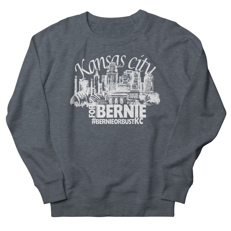 KC for Bernie! Men's French Terry Sweatshirt by deathandtaxes's Artist Shop