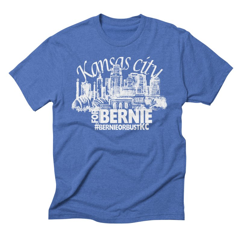 KC for Bernie! Men's Triblend T-shirt by deathandtaxes's Artist Shop