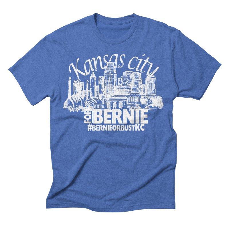 KC for Bernie! Men's Triblend T-shirt by deathandtaxes's Artist Shop
