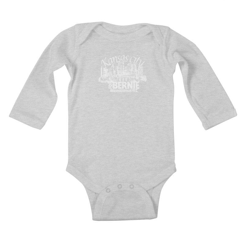 KC for Bernie! Kids Baby Longsleeve Bodysuit by deathandtaxes's Artist Shop