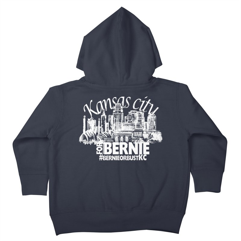 KC for Bernie! Kids Toddler Zip-Up Hoody by deathandtaxes's Artist Shop