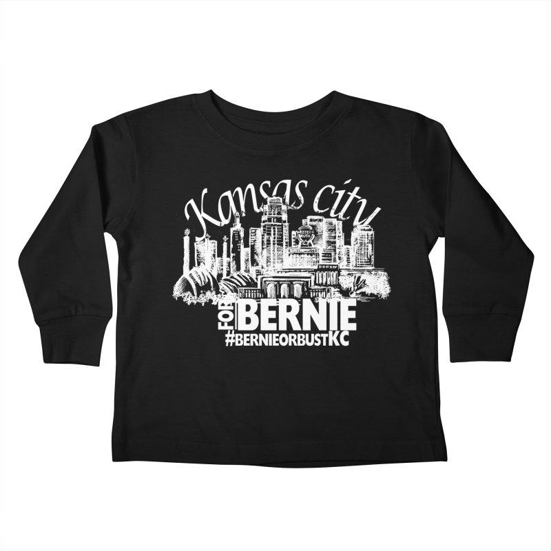 KC for Bernie! Kids Toddler Longsleeve T-Shirt by deathandtaxes's Artist Shop