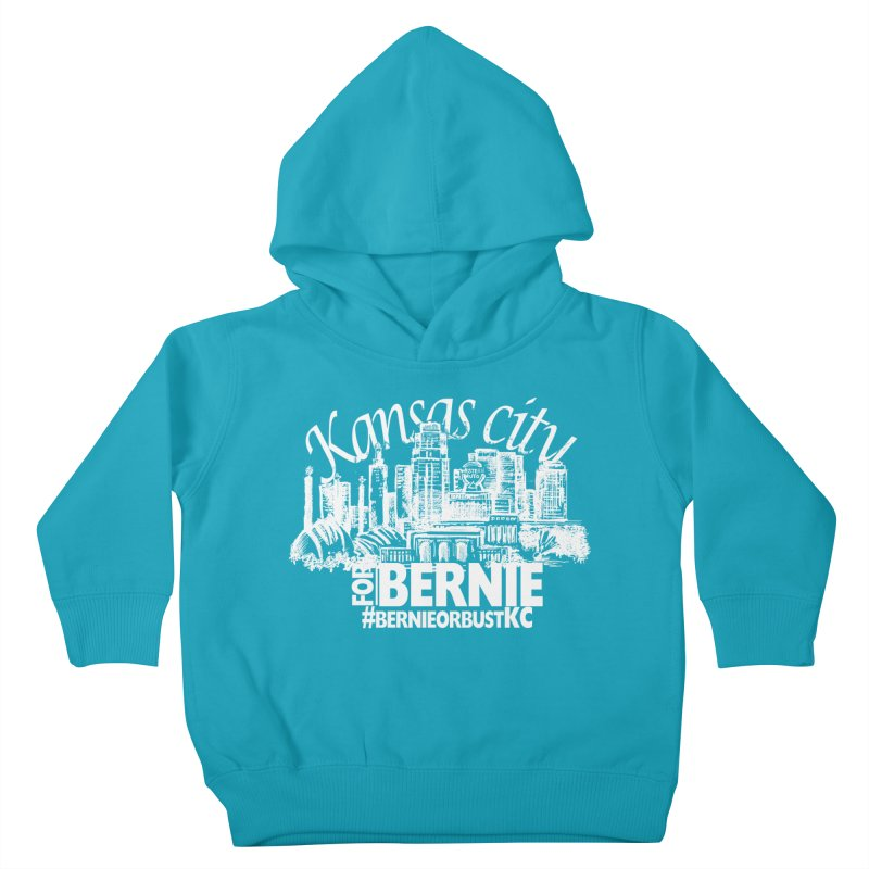 KC for Bernie! Kids Toddler Pullover Hoody by deathandtaxes's Artist Shop