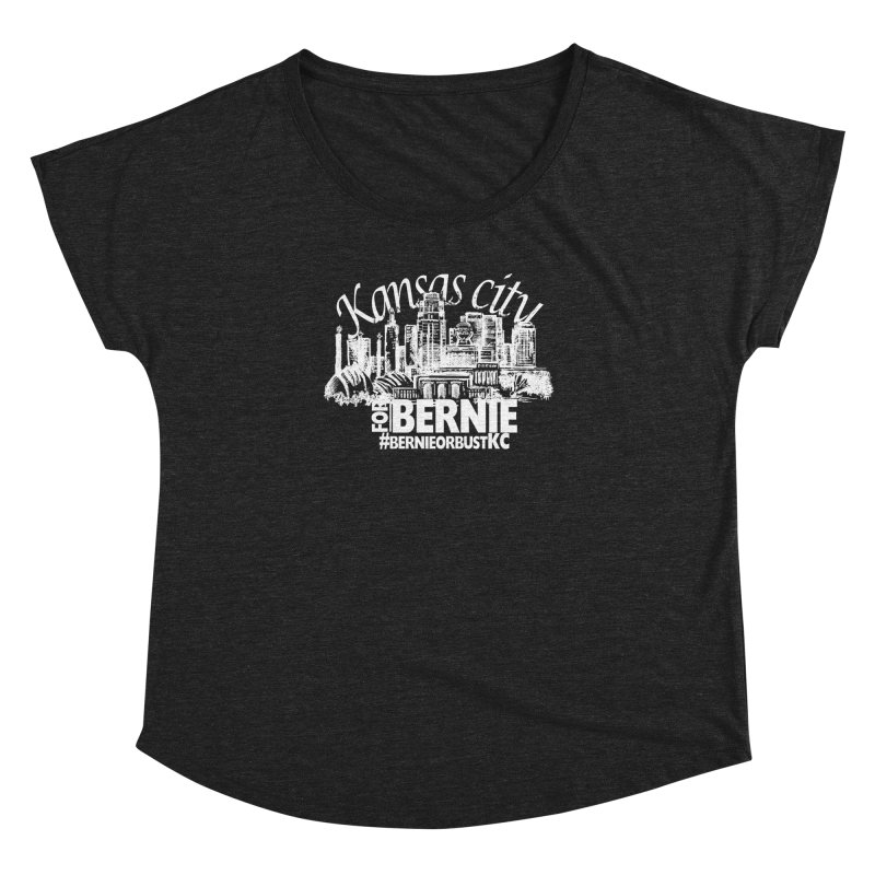 KC for Bernie! Women's Dolman Scoop Neck by deathandtaxes's Artist Shop