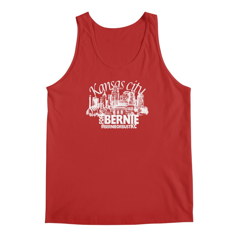 KC for Bernie! Men's Tank by deathandtaxes's Artist Shop
