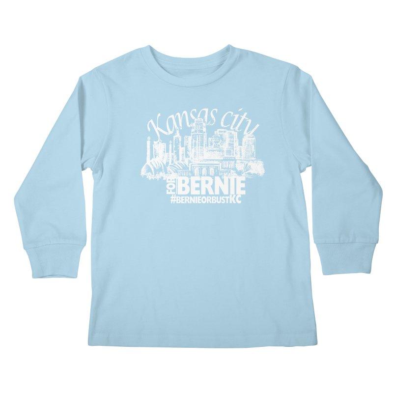 KC for Bernie! Kids Longsleeve T-Shirt by deathandtaxes's Artist Shop