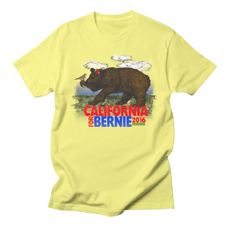 California For Bernie! Bear and Sparrow   by deathandtaxes's Artist Shop