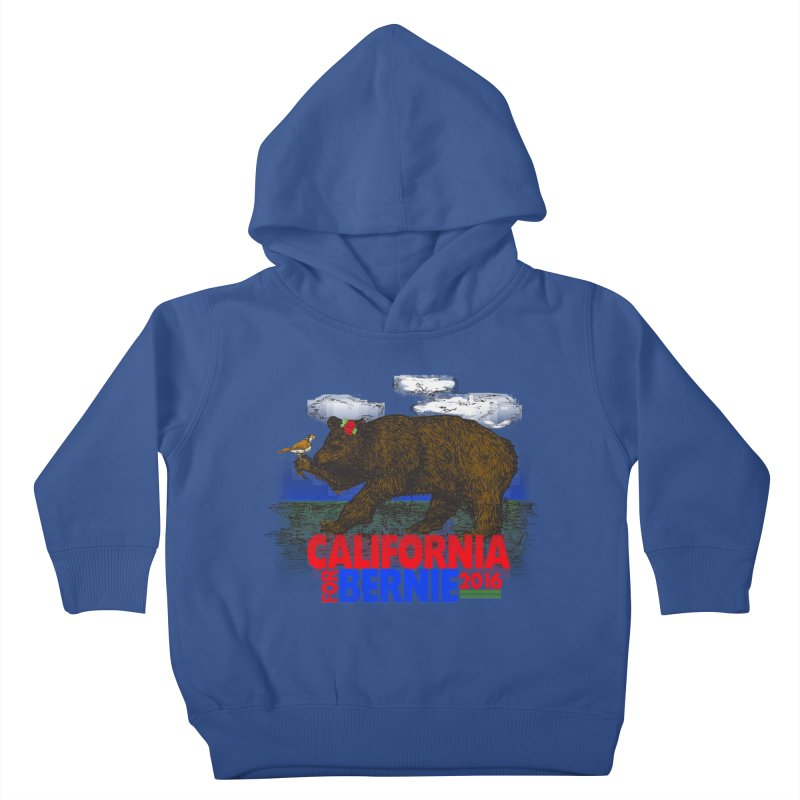 California For Bernie! Bear and Sparrow Kids  by deathandtaxes's Artist Shop