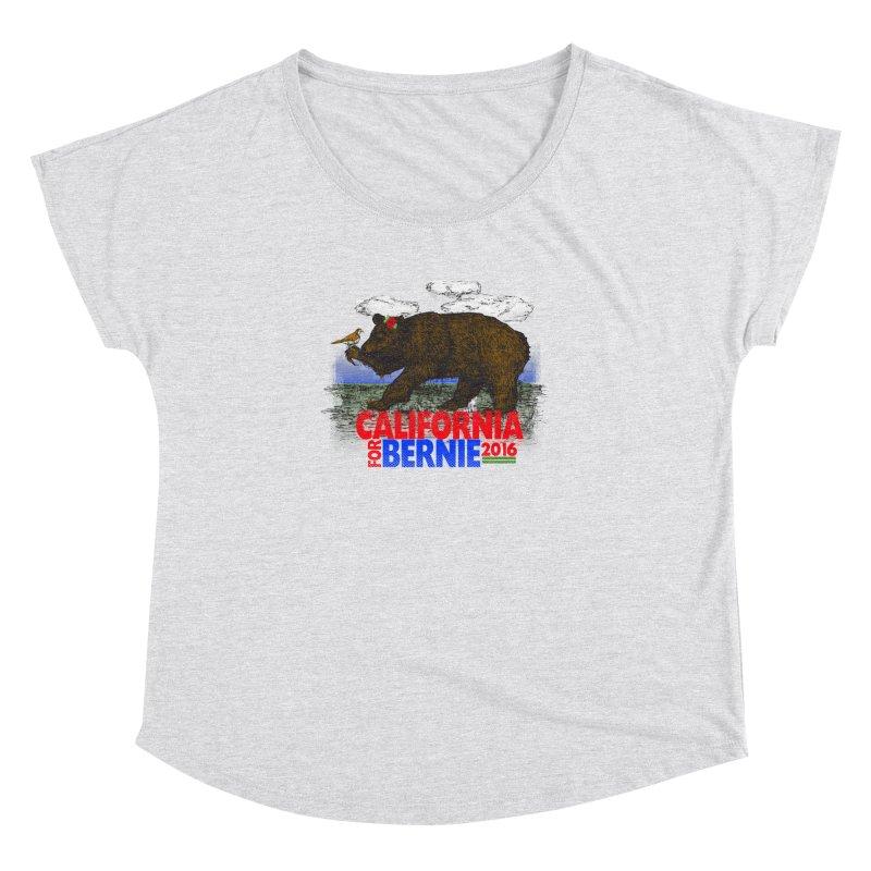 California For Bernie! Bear and Sparrow Women's Dolman by deathandtaxes's Artist Shop