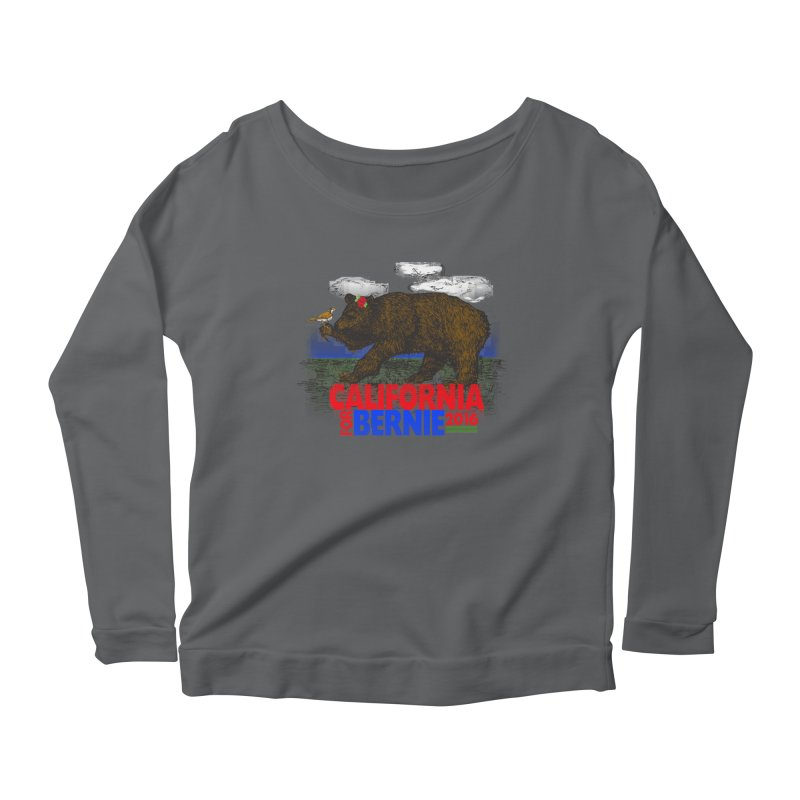 California For Bernie! Bear and Sparrow Women's  by deathandtaxes's Artist Shop