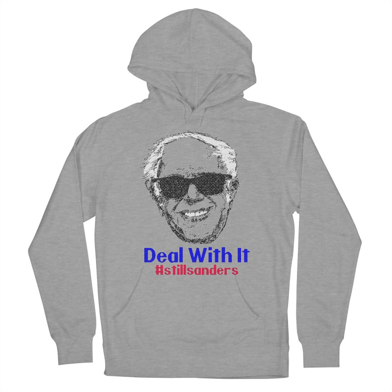 Stillsanders; Deal With It Men's Pullover Hoody by deathandtaxes's Artist Shop