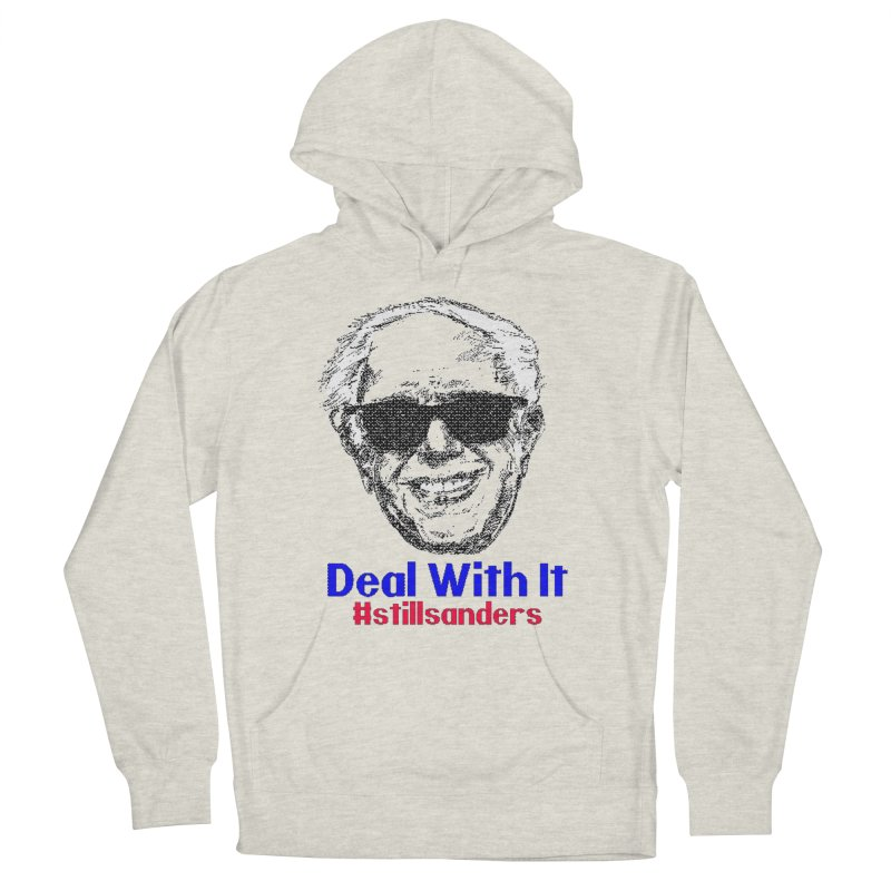 Stillsanders; Deal With It Men's French Terry Pullover Hoody by deathandtaxes's Artist Shop