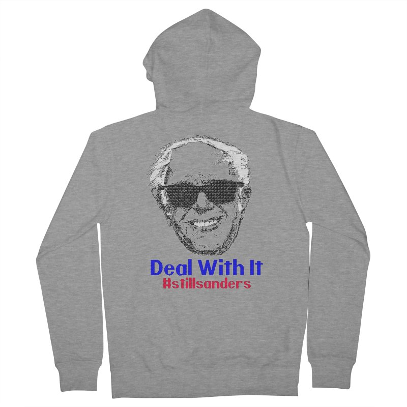 Stillsanders; Deal With It Men's French Terry Zip-Up Hoody by deathandtaxes's Artist Shop