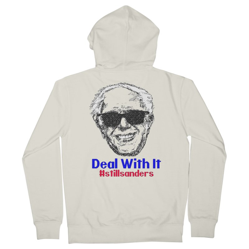 Stillsanders; Deal With It Men's Zip-Up Hoody by deathandtaxes's Artist Shop
