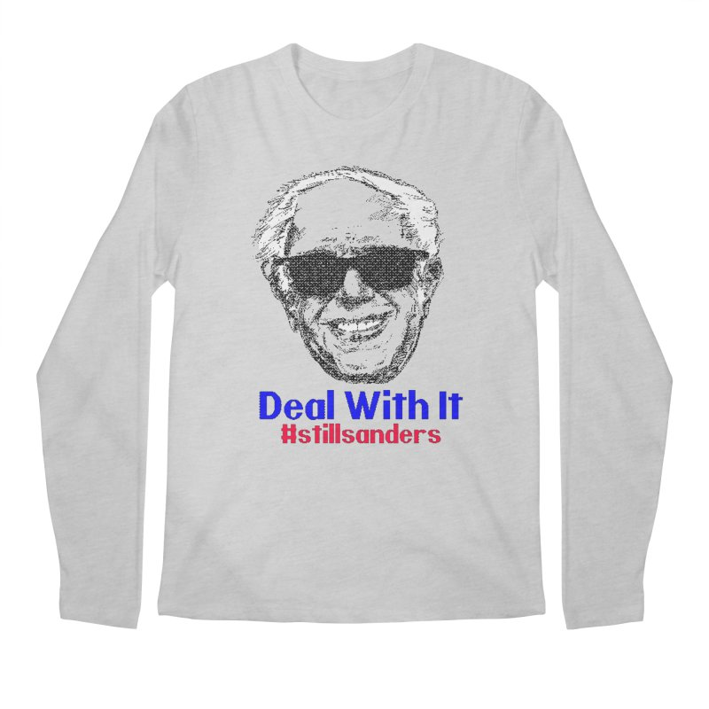 Stillsanders; Deal With It Men's Regular Longsleeve T-Shirt by deathandtaxes's Artist Shop