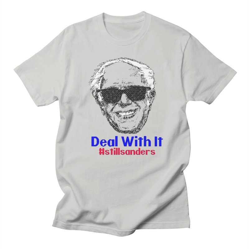 Stillsanders; Deal With It Men's T-shirt by deathandtaxes's Artist Shop