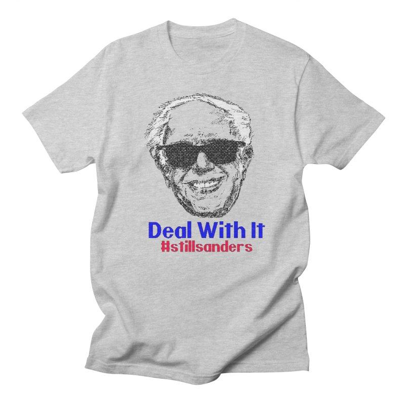 Stillsanders; Deal With It Men's T-shirt by deathandtaxes's Artist Shop
