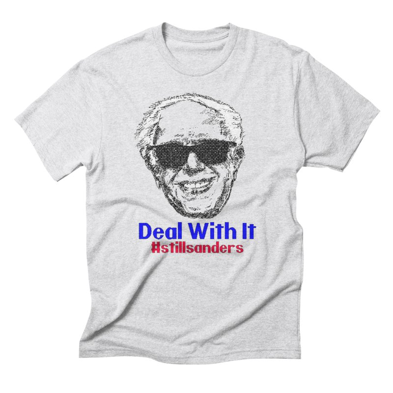 Stillsanders; Deal With It Men's Triblend T-Shirt by deathandtaxes's Artist Shop